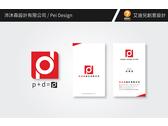 系統櫃、室內設計公司logo及名片設計
