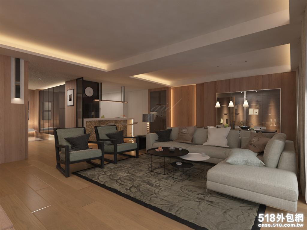 3dmax室内3d图 - 致礼室内设计工作室的工作室服务