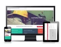 自適應一頁式形象網站設計-黑研創意事務