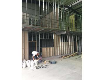 隔間、天花板防火隔音工程