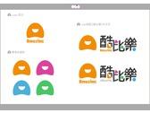 酷比樂線上購物網站英文LOGO設計