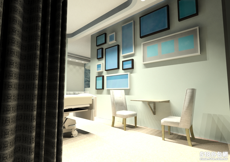 室内空间平面绘制 - creative设计的工作室服务报价