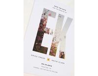 婚禮小卡設計-Lucy Lin Designs