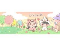粉絲團封面 Banner 插畫-ChiaBB