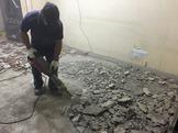 磁磚泥做拆除工程