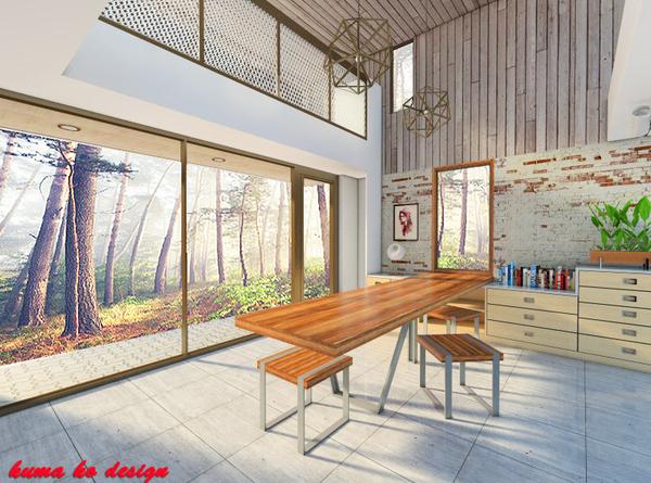 室内3d建模渲染 - 服务报价