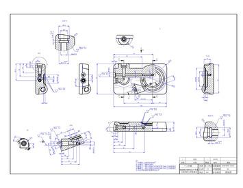 繪製機械平面圖及立體圖