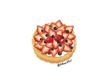食物插畫設計