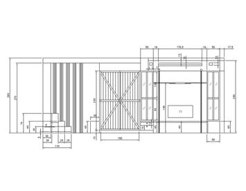 現場丈量、設計、估價、及施工統包