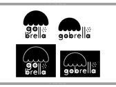 gobrella logo原創設計