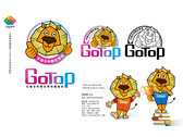 尖端學苑補習班Logo及吉祥物設計