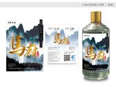 中國白酒酒標設計