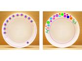 西餐磁具邊框圖像-