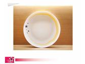 西餐瓷器餐具邊框圖像設計-星月