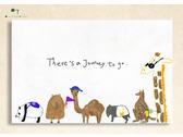 台灣動物明信片手繪
