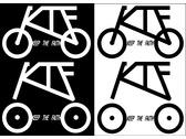 單速車車隊KTF LOGO設計
