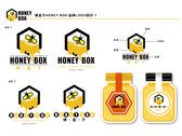 蜂盒子HONEY BOX LOGO設計