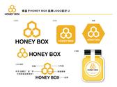 蜂盒子HONEY BOX品牌LOGO設計