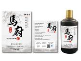 醉真實 中國白酒酒標設計-2