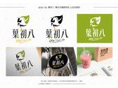 複合式手搖飲料店商標logo設計