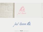 just-Queen_logo設計