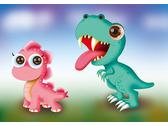 恐龍趴對-兩隻恐龍
