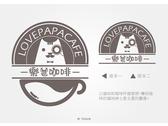 LOGO設計 _ 樂爸咖啡