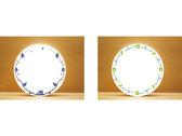西餐瓷器餐具邊框圖像設計
