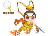Q版神明太子元帥圖像logo設計