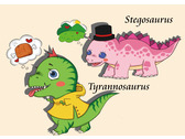 恐龍角色設計