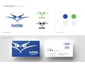 HuKUNA   Logo&名片設計