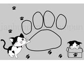 貓咪腳踏墊-1