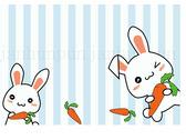 兔子腳踏墊