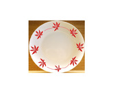 西餐瓷器餐具美工邊框圖像設計