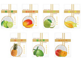 天然水果乾包裝袋設計