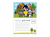 台灣動物明信片設計