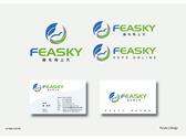 Feasky logo名片設計