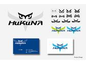 HuKuNa logo名片設計
