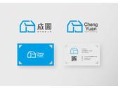 LOGO設計,中英文雙面名片設計