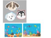 狗狗Q板 造型  以及海洋圖案