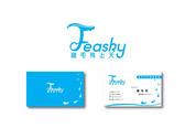 Feasky logo與名片設計