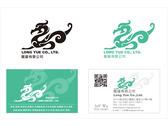 龍躍公司 logo及名片 設計!