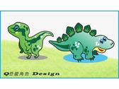 恐龍角色設計-2隻