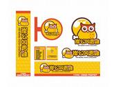 炸雞連鎖LOGO招牌名片設計