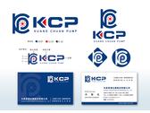 KCP 抽水機公司 LOGO與名片設計