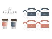 吃心泡芙商標及包裝設計