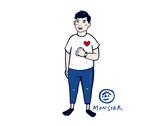萌星插畫卡通工作室提案01