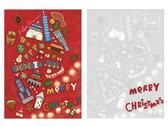 台灣聖誕插畫明信片