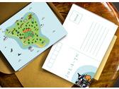 綠島明信片設計