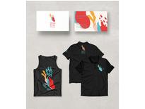 T恤插畫設計-黑研創意事務